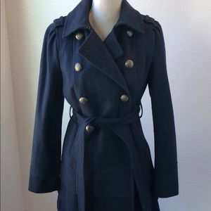 WOMENS EXPRESS Military style Coat in navy blue